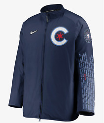 Nike Chicago Cubs City Connect Dugout Jacket Men's L Mlb Sold Out