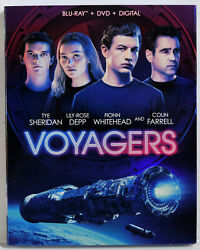 VOYAGERS Blu Ray DVD Digital Code Slipcover NEW SEALED