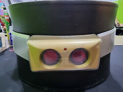 Toei Hero Net Black Rx Belt 1/1 With Certificate And Signed By Tetsuo Kurata