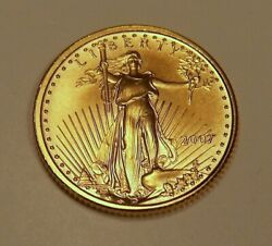 4 2007 Bu 5 American Gold Eagles From Mint Tube Lot 2
