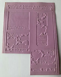 Vintage Angel Unchained Don Stroud And Luke Askew Movie Printing Mold Flong