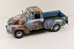 The Danbury Mint 1953 Chevy Pickup124 Scale The Fishermans Tribute Truck