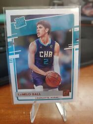 Lamello Ball 2020-2021 Panini Donruss Rated Rookie Charlotte Hornets 202 Roy🔥