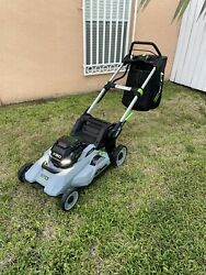 New Ego Lm2100sp Power+ 21-inch Self-propelled Lawn Mower Includes Bat + Charger