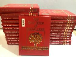 The New Book Of Knowledge Encyclopedia - Complete Set - Very Good Condition 2003