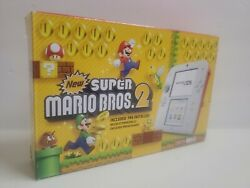 Nintendo 2ds Super Mario Bros. 2 Console Bundle White/red New Fast Shipping