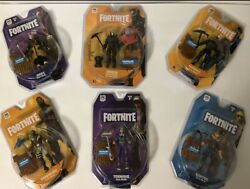 Fortnite Solo Mode/early Game Survival Kit Figure Set Of 6 - New