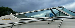 1995 Crownline 27andrsquo Cabin Cruiser Right Side Windshield Glass Piece