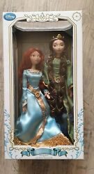 Disney Store Brave Merida And Queen Elinor Doll Set Limited Edition Damaged Box