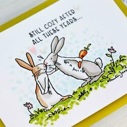 Couple Rabbit In Love Stamp And Die Set Stamps And Die For Card Making