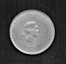 1963 Luxemburg 250 Francs Millennium Of Luxembourg City Silver Coin Km53.1