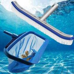 Swimming Pool Skimmer Net Brushhead Maintenance Cleaning Kit For Spa Pond Tool