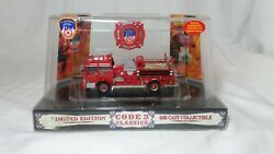 Code 3 Classic Collectible 1/64 Fdny Mack C Pumper Engine 65 Diecast