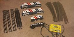 Vintage Lot Tyco Spirit Of 76 Train Set 2 Trains,car,caboose Power Pack 20 Track