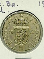 1957 Great Britain One Shilling Foreign Coin 277