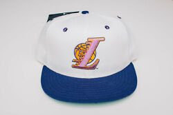 La Lakers Nba Fitted New Era 5950 100 Wool Pre-shrunk Vintage 7 1/8 Nwt