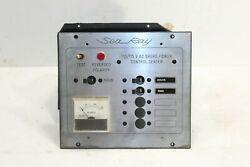 Sea Ray Electrical Shore Power Control Center Switch Panel 110 / 115 V Ac Volts