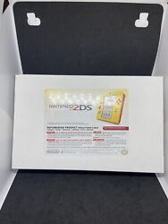 Nintendo 2ds Super Mario Maker Edition Factory Refurbished Free Shipping In Hand
