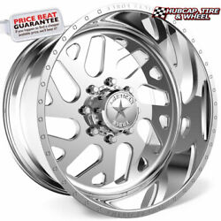American Force D07 Camber Ss Polished 20x14 Wheels Rims 8 Lug Set Of 4