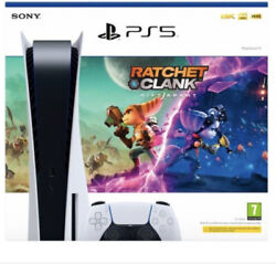 Playstation 5 Disc Edition Bundle Ratchet And Clank Ps5