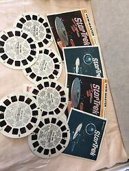 Star Trek Showtime Gaf View-master 21 Stereo Pictures- Lot Of 2