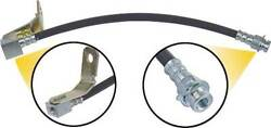 1964-1966 Ford Thunderbird Rear Brake Hose With T-end And Bracket, 14-1/4 Long