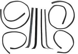 1971-72 Ford Pickup Window Anti-rattle Kit From Serial K40001 48-45197-1