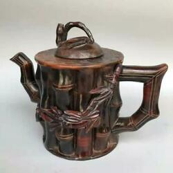 Chinese Ox Horns Handmade Exquisite Teapots 4537