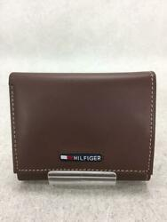 3-fold Leather Leather Brown Fashion Wallet 10366 From Japan