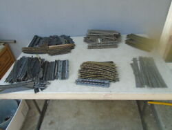 Ho Scale Track Lot Of 230 Straight, Curves, Switch Tracks Atlas, Tyco, Bachmann