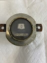 1931 Ford Model A Round Waltham Speedometer 1930 Odometer