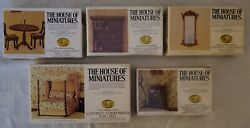 Vintage Authentic X-acto The House Of Miniatures Furniture Lot Of 5 New Unused