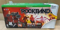 Xbox One Rock Band 4 Band In A Box New Opened Box Never Used Read