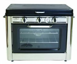 Camp Chef Outdoor Camp Oven 2 Burner Range, Gas Oven, Single, Covencc