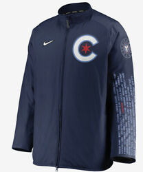 Nike City Connect Dugout Mlb Chicago Cubs Men's Full-zip Xl