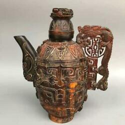 Chinese Ox Horns Handmade Exquisite Teapots 3926