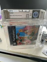 Wata 9.4 A++ Tomba Sony Playstation 1 Ps1 New Sealed Authentic