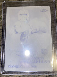2010 Topps Chrome John Skelton Rookie 1 Of 1 Black Printing Plate As Pictured