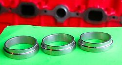 1937-1962 Chevy 216 235 261 Intake Manifold Ring Adapters Use With Fenton Gm Ie6