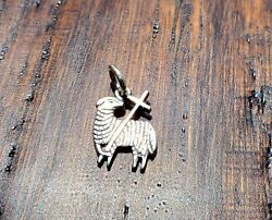 James Avery Lamb Of God Charm Or Pendant Jump Ring Intact Rare/retired