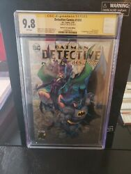 Detective Comics 1000 Bed City Edition. Cgc Signature Series 9.8 Signed By...