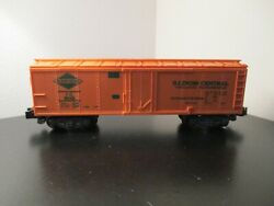 American Flyer S Gauge 802 Illinois Central Reefer Used No Box