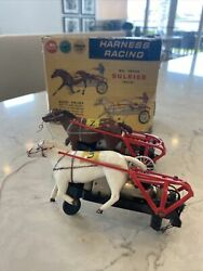 Vintage 1960's American Flyer A.c. Gilbert Auto Rama Sulkies Box Included Rare