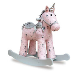 Little Bird Told Me Celeste And Fae Rocking Unicorn 12m+ Ride On With Soft Fabric
