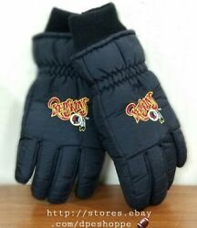 Nfl Washington Redskins Thinsulate Thermal Insulation Winter Adult Gloves Sz M/l