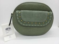 Beautiful Genuine Leather Fossil Serena Belt Bag. Aloe Color. Brand New W/tags