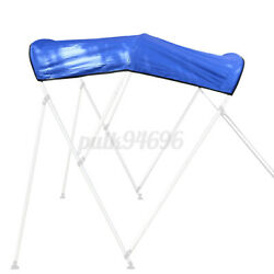 600d Bimini Top Boat Roof Canvas Cover 3 Bow 79-84 Cover 6ft L W Boot No Frame