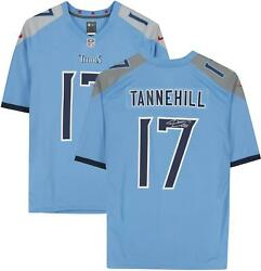 Ryan Tannehill Tennessee Titans Autographed Light Blue Nike Game Jersey