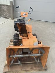 Vintage Bob Cat Snow Blower Attachment Made In Fargo Nd Runs Strong