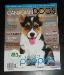 Canadian Dogs Magazine 200+ Pages Annual 2014 Perfect Puppies Welsh Corgi